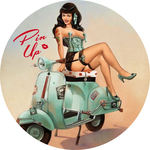 Pin-up Sticker 1