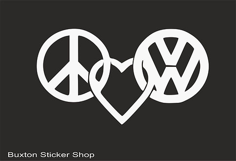 Peace and love VW VAG