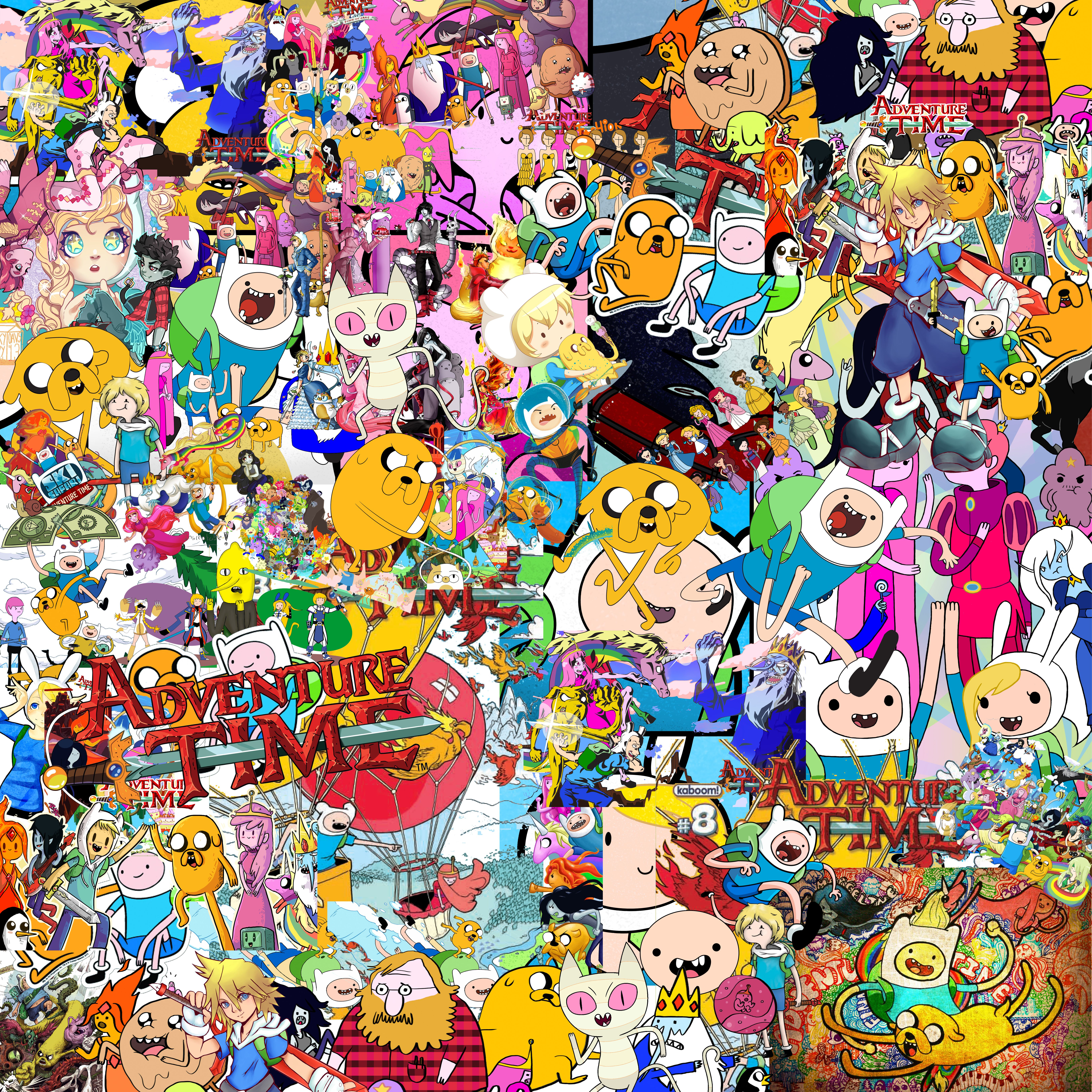 50x50 adventure time