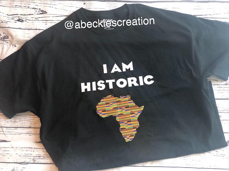 I am Historic Men's T-shirt