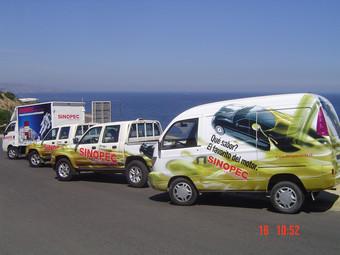 Grafica per veicoli, Sinopec