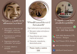 Volantino Servizi, InTouch Di Sara Cevolani