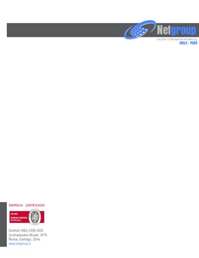 Foglio Aziendale, Netgroup