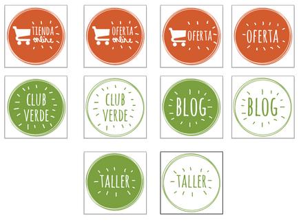 Materiale grafico per la Web, Rumbo Verde