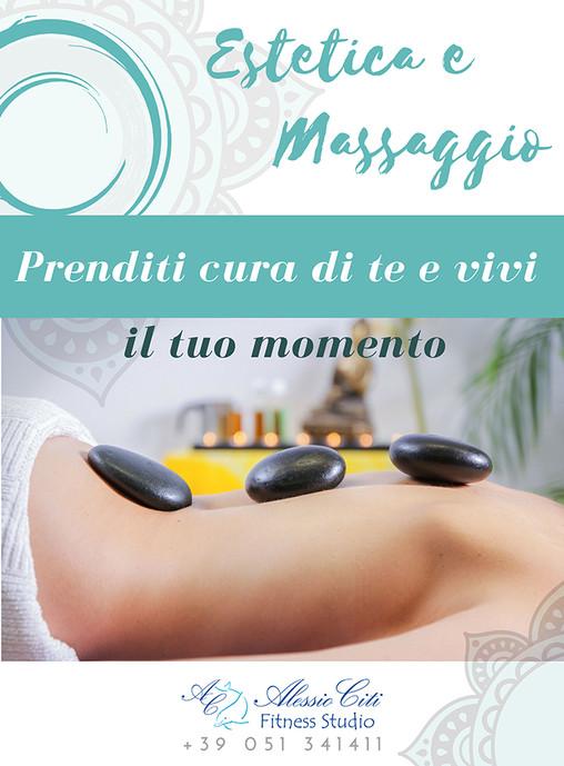 Poster, massaggi-estetica