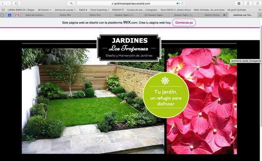 Sviluppo Sito Web, Jardines Los Trapenses