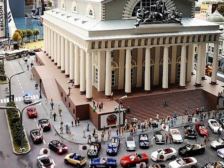 """Musées cachés """"La grande maquette Russie"""""""