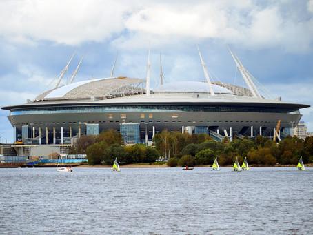 Le nouveau stade de Saint-Pétersbourg