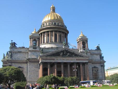 Nocturne de la Cathédrale Saint-Isaac et de sa colonnade