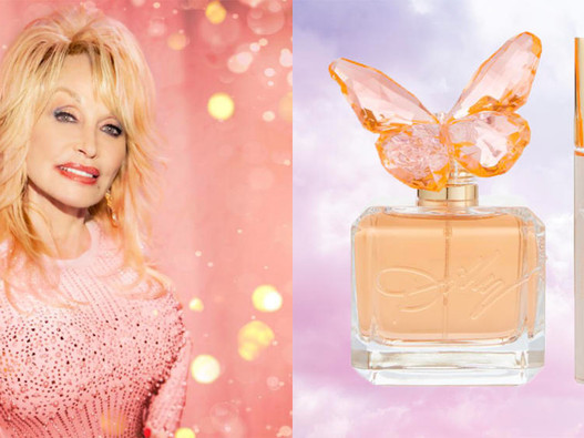 NEW MUSIC: DOLLY PARTON | SENT FROM ABOVE + SIGNATURE PERFUME