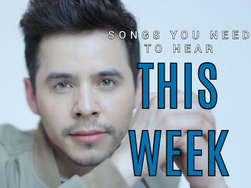 5 SONGS YOU NEED TO HEAR THIS WEEK