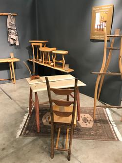 Scandinavian soap-finished desk