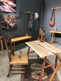 Desk & Ladderback Chair