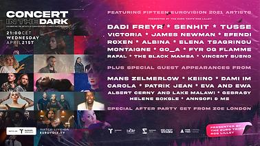 Concert in the Dark Lineup