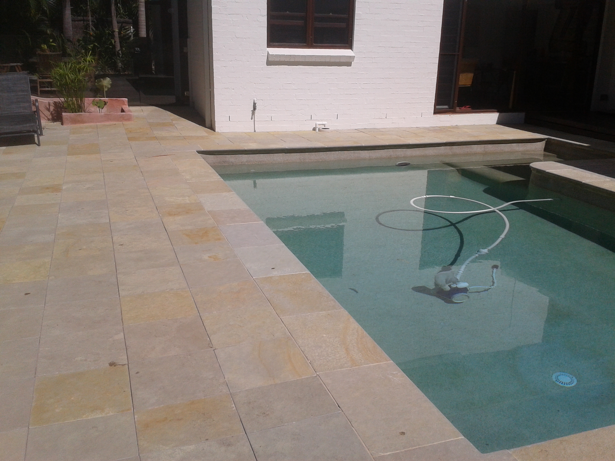 Limestone paving_coping