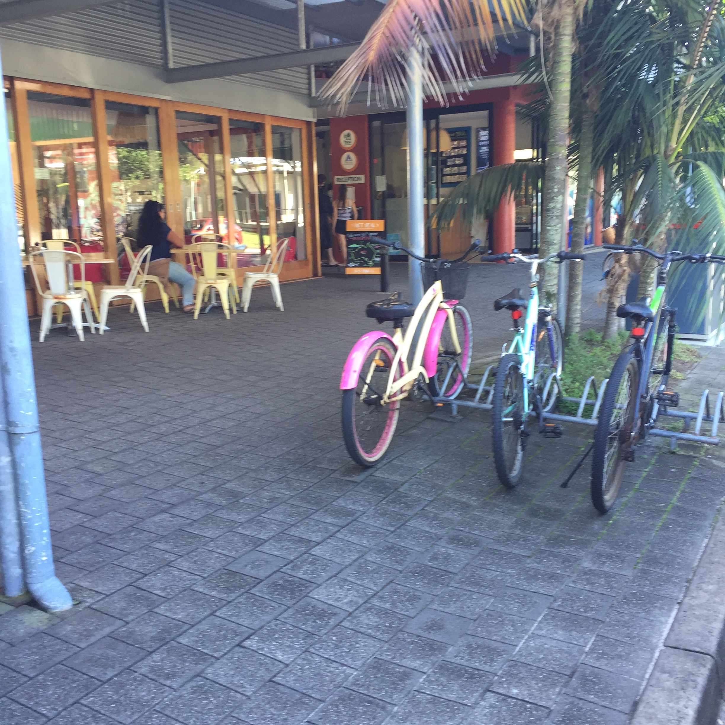 YHA Byron Bay - paving