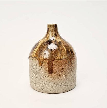 Golden Cacao Vase