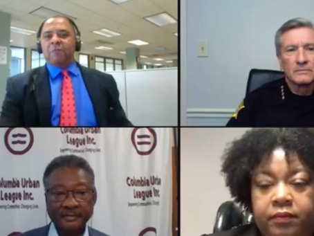 Our President & CEO, J.T. McLawhorn discusses police reform with Sherif Leon Lott and others.