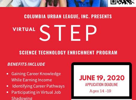 Columbia Urban League Presents Virtual STEP
