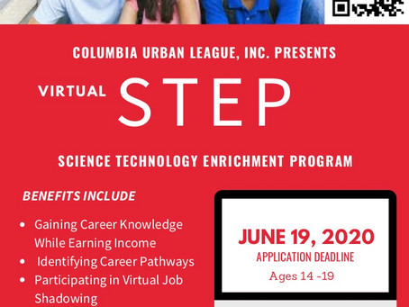 Columbia Urban League Presents Virtual STEP