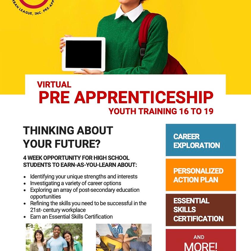 Virtual Pre Apprenticeship