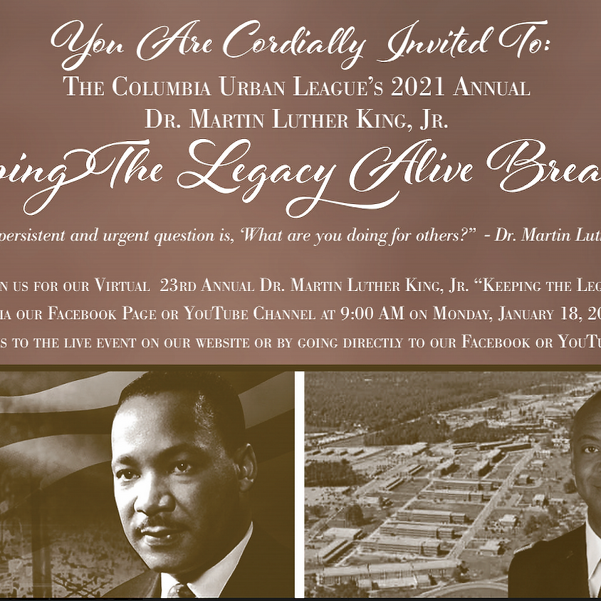 Annual Dr. Martin Luther King, Jr. Keeping The Legacy Alive Breakfast