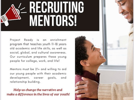 We're Recruiting Mentors!