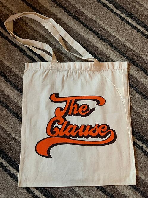 Tote Bag Cream/Orange