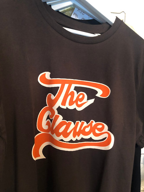 Tee Chocolate/Orange Logo