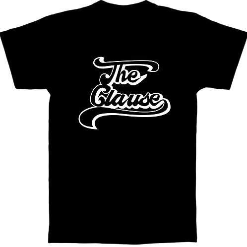 The Clause Logo Tee Black