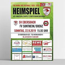 Morgen Heimspiel SV Ebersbach 1910 e.V.j