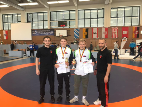 Luca Deininger und Moritz Hölz holen Bronze bei den Deutschen Meisterschaften