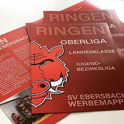 Neue Sponsorenmappe für die Ringer des S