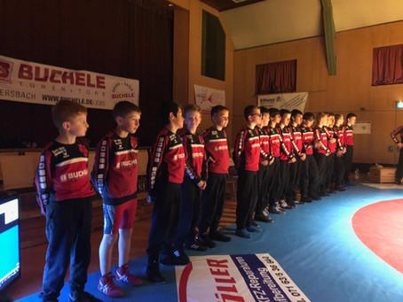Erster Kampf der Jugendmannschaft KG Ebersbach/Faurndau in Eschenbach