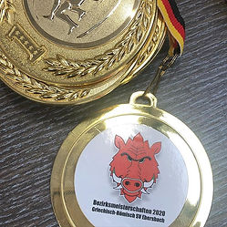 Medaillenkleber für den SV Ebersbach Abt