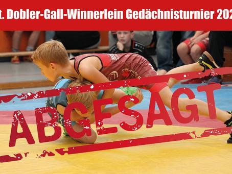 Int. Dobler-Gall-Winnerlein Turnier abgesagt