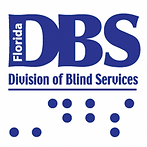 Florida Division of Blind Services Logo and Link