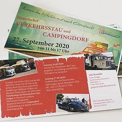 Flyer für die Stadt Ebersbach designed b