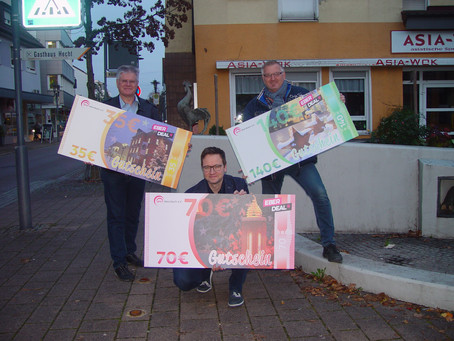Einkaufen in Ebersbach macht sich bezahlt