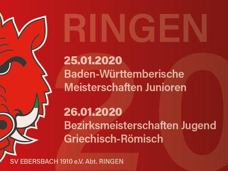 Großes Ringer-Wochenende im Jubiläumsjahr!