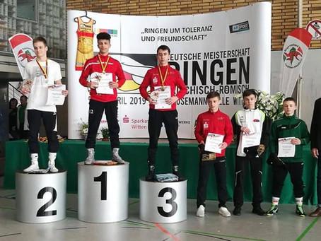 Henrik Roos 5. bei den Deutschen Meisterschaften A-Jugend Greco