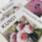 Flyer und Plakat für Kunst im Rathaus de