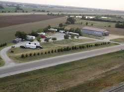 Aerial View of RV Park