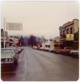 Main Street. Morton, Washington c. 1971