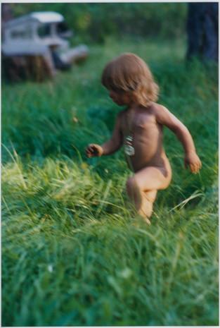 Living free at the cabin. Trout Lake, Washington c. 1999