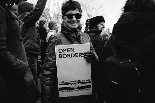 Open Borders (Immigrant & Refugee Rights Day)