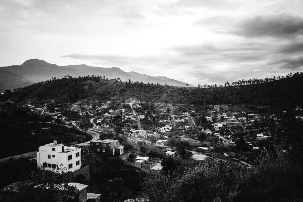 THE VIEW FROM COLONIA SAN JOSÉ DE LUMAS