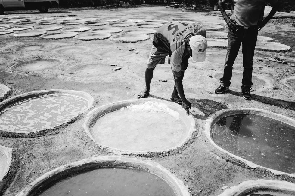 SALT PRODUCTION ON THE OAXACAN COAST