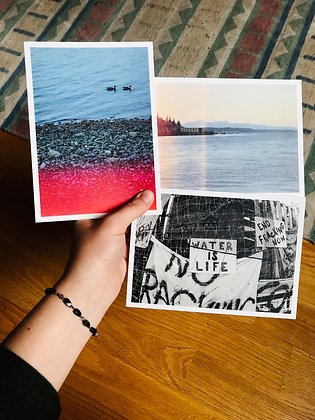 Postcard Prints | WATER IS LIFE