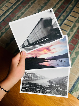 Postcard Prints | COLOMBIA RIVER GORGE